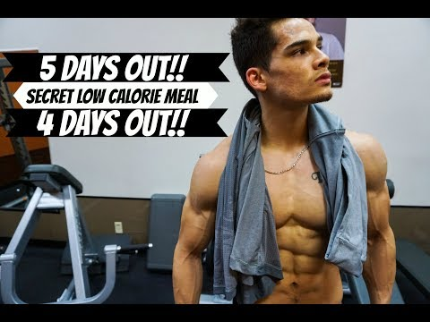 5 Days Out    4 Days Out    Low Calorie Meal With VOLUME