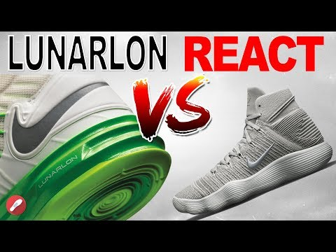 nike-lunarlon-vs-nike-react-cushion!-what's-better?