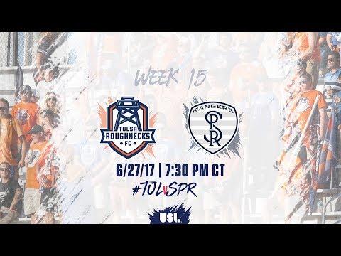 USL LIVE - Tulsa Roughnecks FC vs Swope Park Rangers 6/27/17