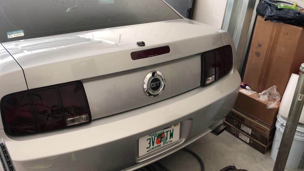 Cammed Mustang GT 3valve