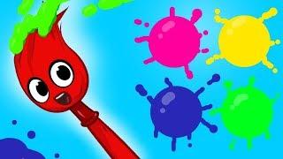 Morphle en Français | Mon Pinceau Magique Morphle - apprendre les couleurs pour enfants