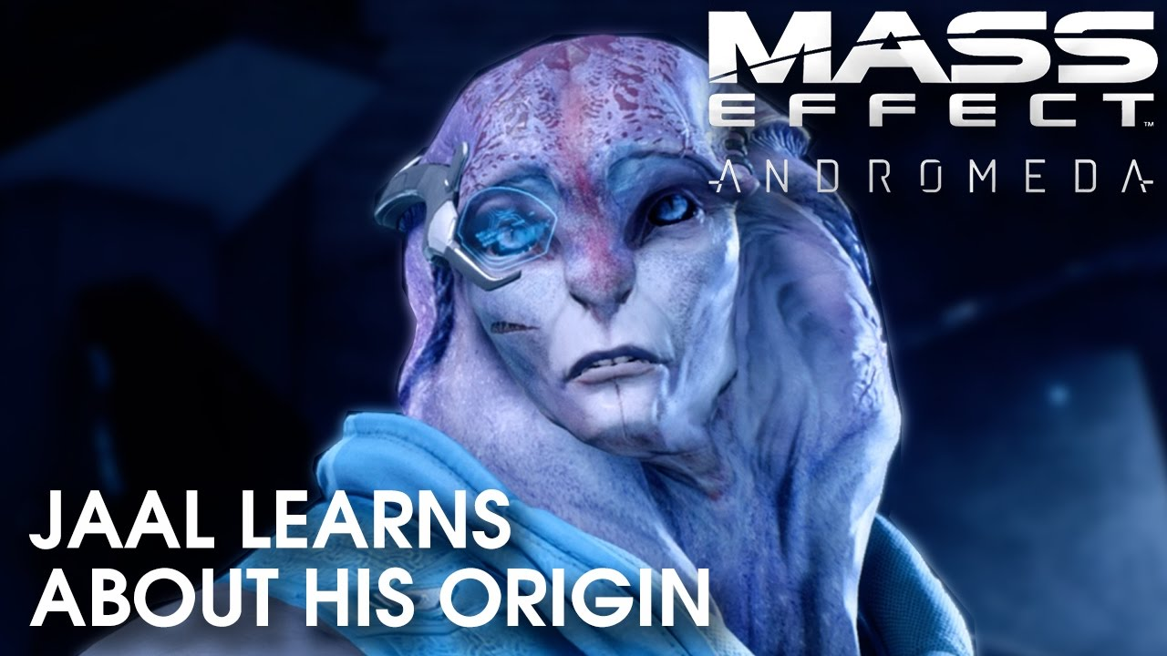 Mass Effect Andromeda: Jaal learns about his origin (spoilers)