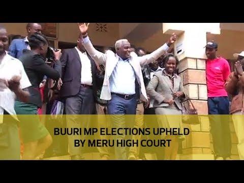 Buuri MP elections upheld by Meru High Court