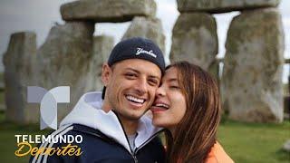 Chicharito, Sarah Kohan y un beso caliente | Premier League | Telemundo Deportes