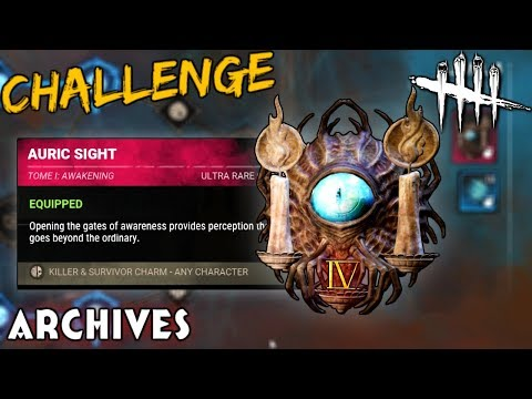 The Final Archive Challenges! - Dead by Daylight