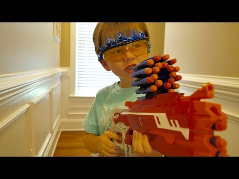 Nerf War: The Break in Nerf Battle