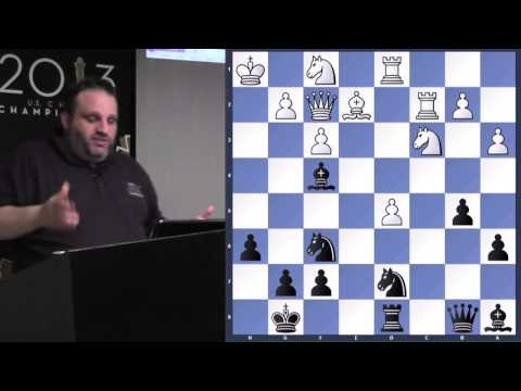 Exchange Sacrifices | Garry Kasparov, Anatoly Karpov - GM Ben Finegold - 2013.07.10