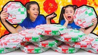 NÃO ESCOLHA A PIZZA ERRADA! SLIME CHALLENGE