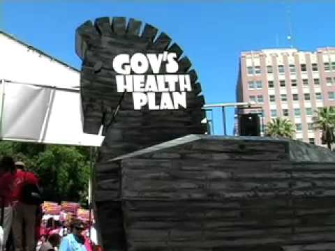Healthcare Rally Roundup: Sacramento, CA - May 8, 2007