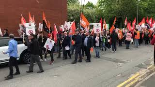 GMB Demonstration Outside ASDA HQ