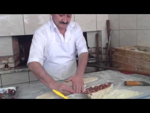 Turkish Pide Bread in Wood Oven