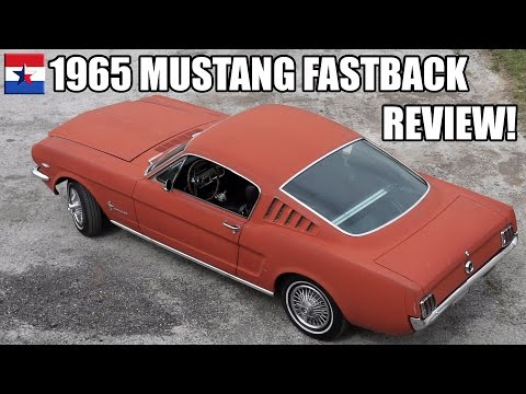 1965 Mustang Fastback // Review