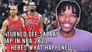 I Turned Off Salary Cap in NBA 2K20... Here's What Happened