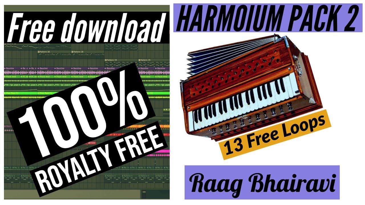 Royalty Free Harmonium Pack 2 +Midi #punjabiloops #freeloops #freepunjabimusic - RaagBhairavi Loops