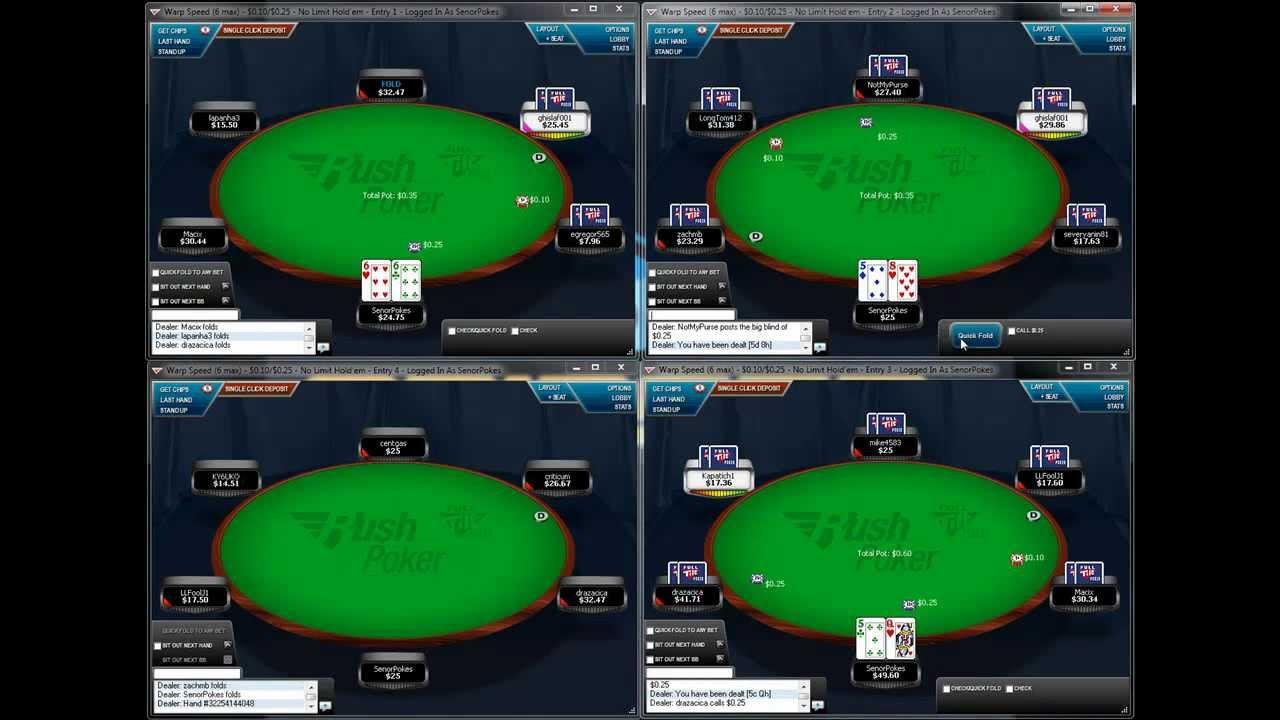 4 max poker strategy