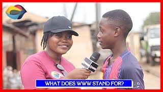 What Does WWW Stand For? | Street Quiz | Funny Videos | Funny African Videos | African Comedy