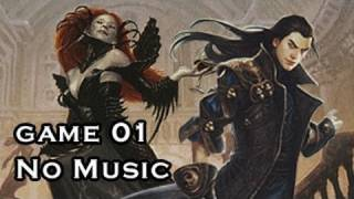 """Magic the Gathering"" Highlights Grixis Control Vs U/W Illusions G1 (noMusic) (12-27-2011)"