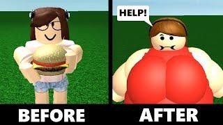 Cosa succede se mangi 10.000 Big Mac? (Triste Roblox Story)