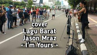 Video Jason Mraz Versy Pengamen Ganteng Bersuara E'mas Live Music Car Free Day download MP3, 3GP, MP4, WEBM, AVI, FLV Agustus 2018