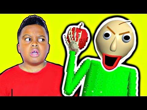 NEVER Give Baldi An Apple! - Baldi's Basics Full Game (Demo) - Onyx Squad