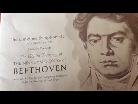 BEETHOVEN - SYMPHONY NO 1 IN C MAJOR, OP   21    - The London Symphony Orchestra, Josef Krips ‎