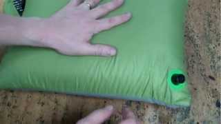 cocoon ultralight air core pillow gear review backpacking pillow