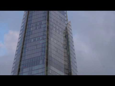 Climbing The Shard: George King
