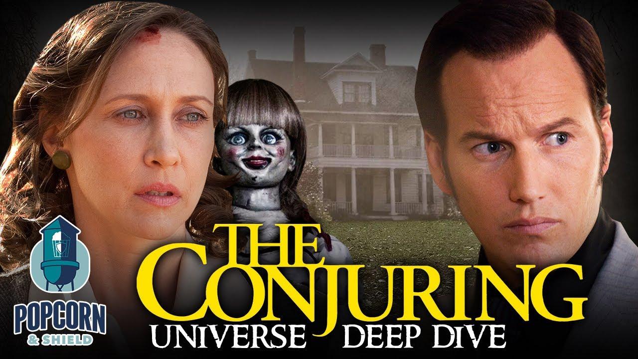 The Conjuring Universe Deep Dive w/Vera Farmiga & Patrick Wilson | Popcorn & Shield