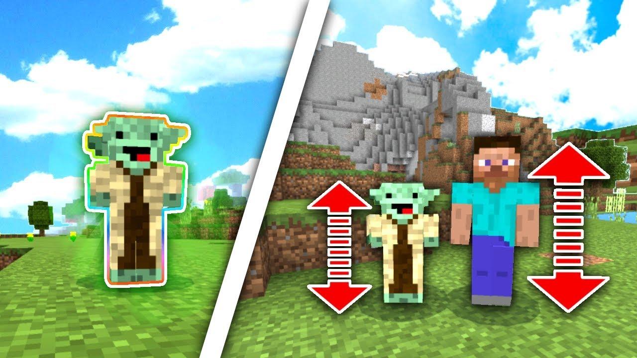YODA SKIN TROLL Minecraft PE SkyWars No Armor Challenge - Skins para minecraft pe de troll