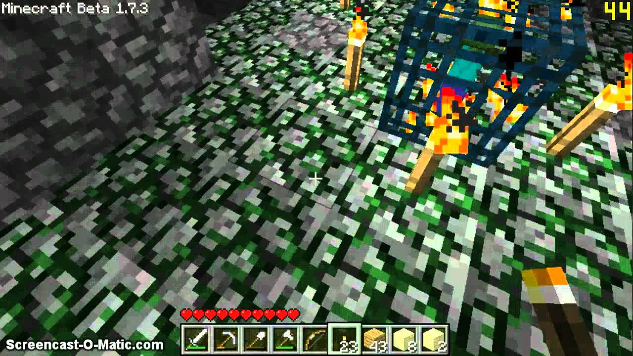 Minecraft About All Ep 3 Sandstone Moss Stone Ser