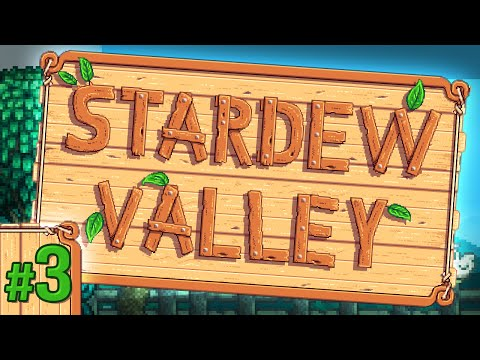 Stardew Valley #3 - Furnace Crafting!