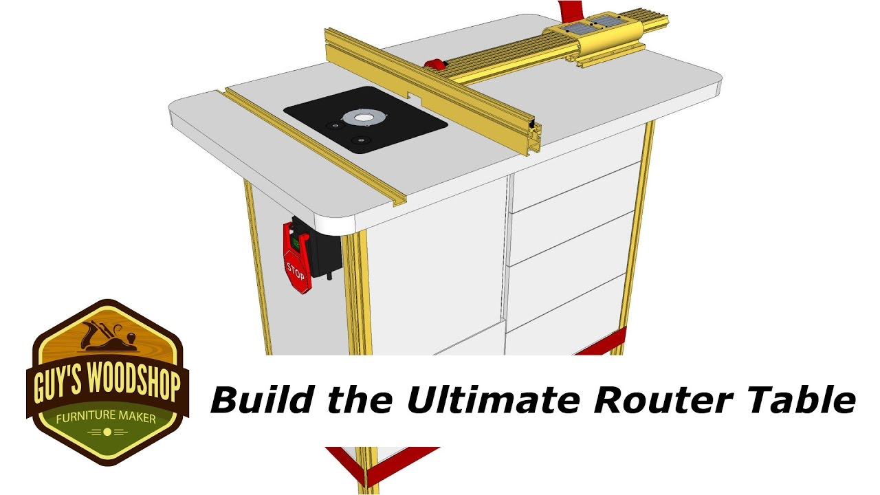 How to build the ultimate router table with incra pt1 youtube how to build the ultimate router table with incra pt1 greentooth Choice Image