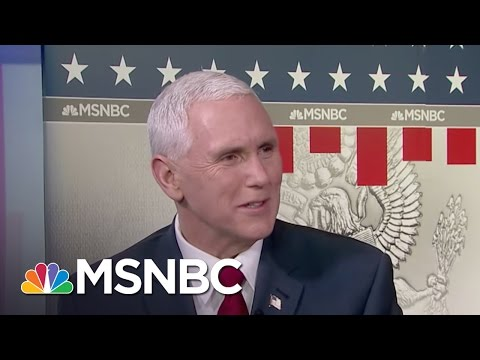 Mike Pence: It Was A Great Speech, A Great Night For America | Morning Joe | MSNBC