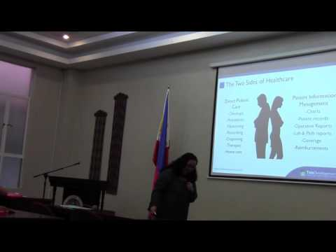 TDS at CEU Nursing Informatics Seminar - Part 1