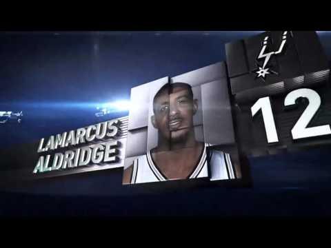 San Antonio Spurs vs Brooklyn Nets | January 11, 2016 | NBA 2015-16 Season