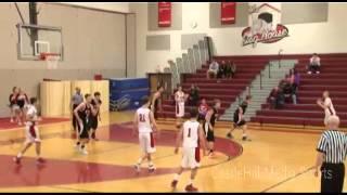 Boy's High School Basketball: Bedford Jv Bulldogs Vs Keene Blackbirds (2/28/14)