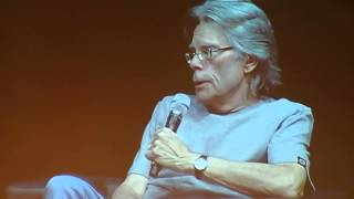 Stephen King on Pennywise, Carrie and Shining