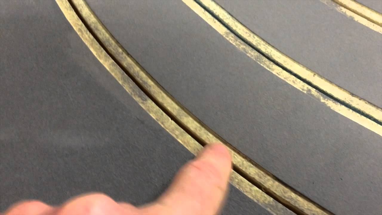 Building Paramount Raceway 1960 S Routed Slot Car Track