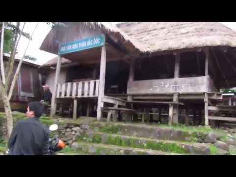 Vietnam travel Vietnam-Laos border areas and enjoy smoked wild boar meat specialties upland people
