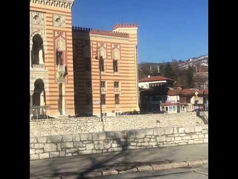 House at the Bascarsija, Sarajevo Old City, next to the Kuwaiti embassy. House had two floors.