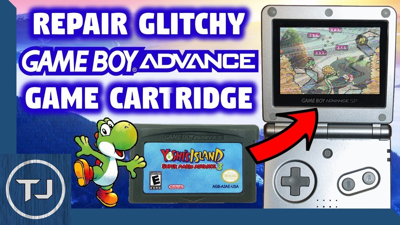 how to fix a gameboy game that wont start