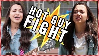 The Merrell Twins Fight Over a Hot Guy feat. Gabriel Conte and Gabe Erwin