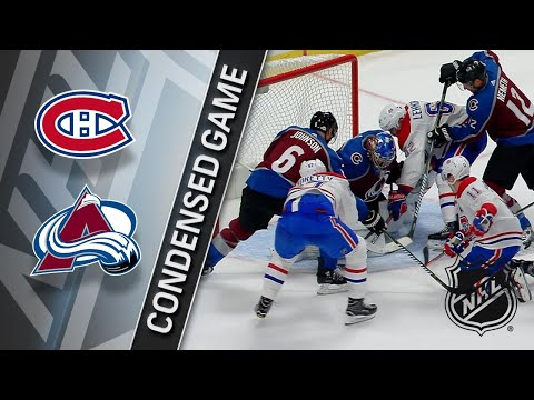 02/14/18 Condensed Game: Canadiens @ Avalanche