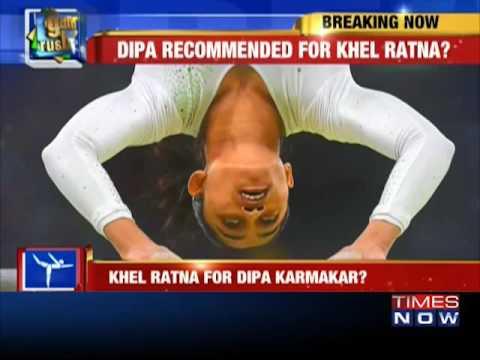Gymnast Dipa Karmakar's name recommended for Khel Ratna