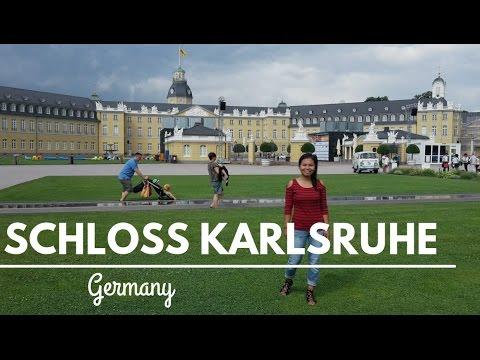 Germany - Schloss Karlsruhe and Schlosslichtspiele 2016