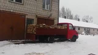 iveco daily kiprowanie drewna