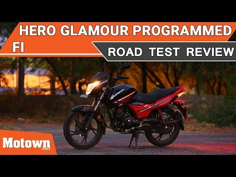 Hero Glamour Programmed FI | Road Test Review | Motown India