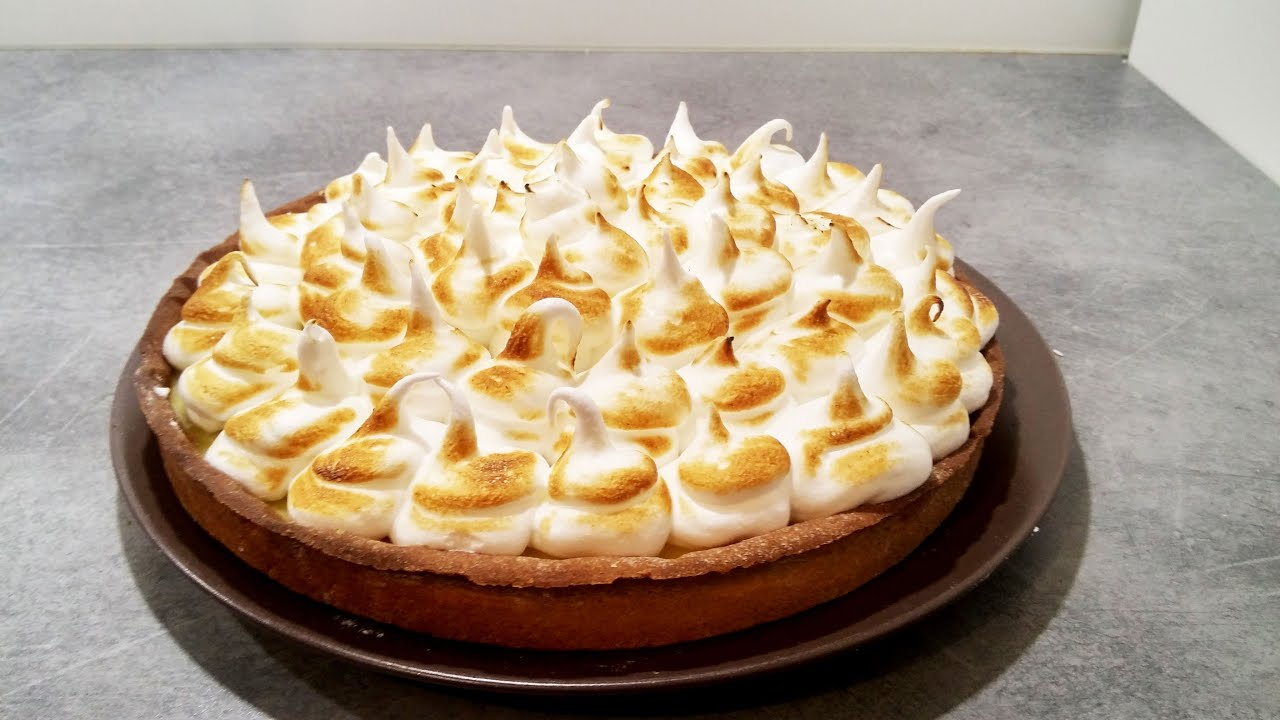 recette facile et rapide de la tarte au citron meringu e lemon meringue pie youtube. Black Bedroom Furniture Sets. Home Design Ideas