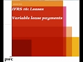 PwC's Analysing IFRS 16 Leases - 4. Variable lease payments