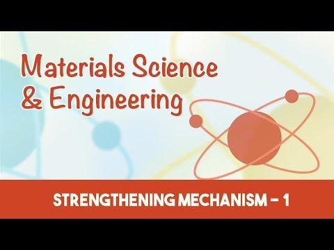 AMIE Exam Lectures- Materials Science & Engineering | Strengthening Mechanism - 1 | 7.3